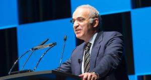 Garry Kasparov: widely considered to have been the best chess player of modern times