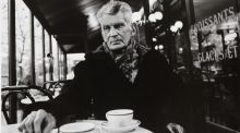 John Minihan's iconic photograph of Samuel Beckett in a Paris cafe, sold for €2,700