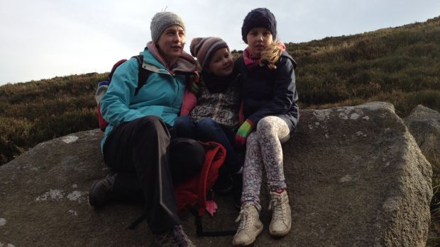 Anne-Marie Parnell on an adventure with with Ava and Erin