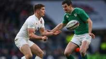 Owen Farrell ready to battle Johnny Sexton for Lions 10 jersey