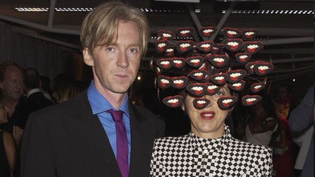 Philip Treacy with Isabella Blow in 2003. Photograph: Dave Benett/Getty Images