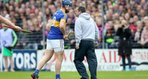 Jason Forde was banned following his clash with Wexford manager Davy Fitzgerald during the Allianz League semi-final. Photograph: Ryan Byrne/Inpho