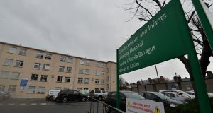 The Coombe maternity hospital in Dublin charges a reasonable parking rate of €2.50 for up to four hours, and a special daily rate for the day of delivery of €7.50. Photograph: Alan Betson