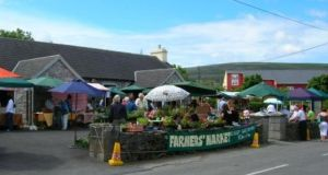 Ballyvaughan Farmer's Market, Co Clare - which is open for the summer season