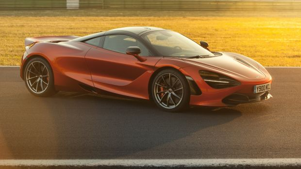The McLaren 720S does frightening things without ever feeling frightening, blistering into fast bends with a trace of understeer and with its constantly variable rear wing angle giving it delicious stability under heavy braking and direction changes