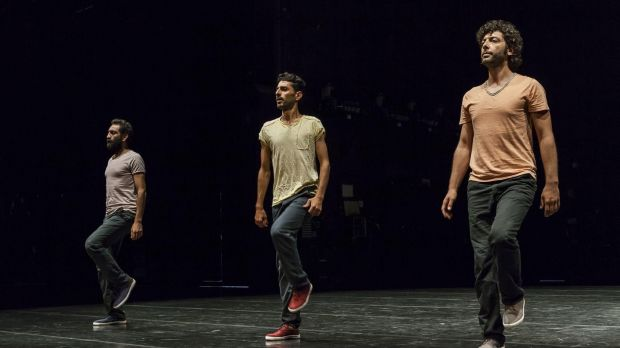 Displacement, created by Mithkal Alzghair, is a trio dance about shared struggle