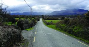 At the 54km mark, there is a left turn for Aghadoe and the beginning of a gradual ascent.