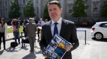 Minister for Public Expenditure and Reform Paschal Donohoe: hoping to avoid big rise in public pay levels. Photograph: Collins