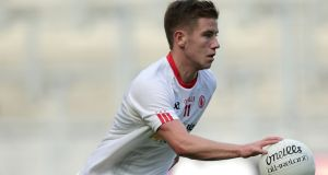 Mark Bradley enjoyed All-Ireland under-21 success with Tyrone in 2015. Photograph: Morgan Treacy/Inpho
