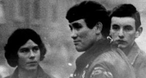 The Independent Commission for the Location of Victims' Remains is keen to hear from anyone who can help them to locate the body of British Army Grenadier Guard Capt Robert Nairac (centre), who was abducted, murdered and secretly buried by the IRA 40 years ago. File photograph: PA