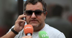 Football agent Mino Raiola made €49 million from the transfer of Paul Pogba to Manchester United. Photo: Getty Images