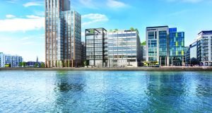 JP Morgan is to acquire a 130,000sq ft building in the heart of Dublin's docklands in a move that will provide the US investment bank with the capacity to double its Irish work force to 1,000.