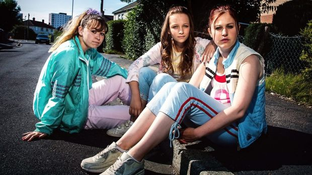Liv Hill, Molly Windsor and Ria Zmitrowicz in Three Girls. Photograph: BBC