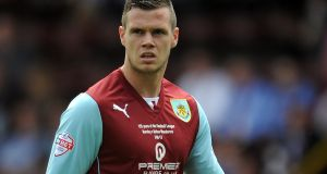 Kevin Long of Burnley has been included in the Ireland squad. Photograph: Chris Brunskill/Getty Images