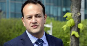 Minister for Social Protection Leo Varadkar: Brexit idea tries to ensure the free movement of people and goods between North and South continues. Photograph: Cyril Byrne