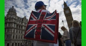 The Leave campaign's  anti-immigration and anti-EU message had an emotional appeal that Remain's economic pessimism could not match. Photograph: Dan Kitwood/Getty Images