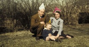 Richard Ford as a child with his parents, Parker and Edna. Photograph: courtesy of Richard Ford