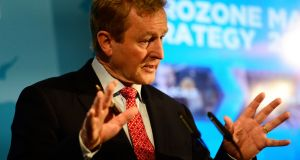 Taoiseach Enda Kenny at the Enterprise Ireland strategy document launch in Dublin on Monday. Photograph: Cyril Byrne