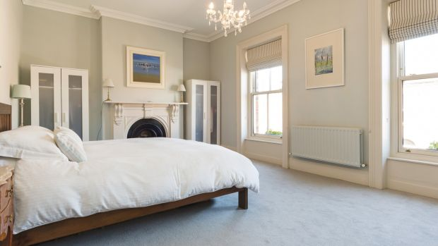 The master bedroom takes up the entire width of the house at 3 Oxford Road