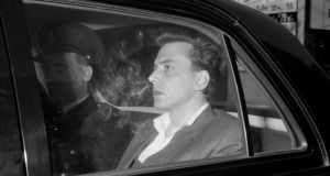 Moors murderer Ian Brady while in police custody prior to a court appearance   in 1965.  Photograph: PA Wire