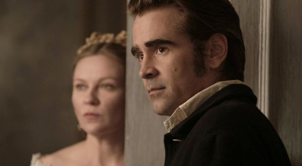 Kirsten Dunst and Colin Farrell in Sofia Coppola's The Beguiled