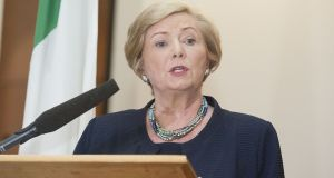 Minister for Justice Frances Fitzgerald published the General Scheme of the Data Protection Bill 2017 on Friday. Photograph: Dave Meehan/The Irish Times