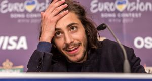 "Salvador Sobral's Eurovision victory on Saturday was marked by modesty and generosity. ""Just a boy in his bedroom singing a song written by his sister,"" as Graham Norton put it.  Photograph: Brendan Hoffman/Getty Images"