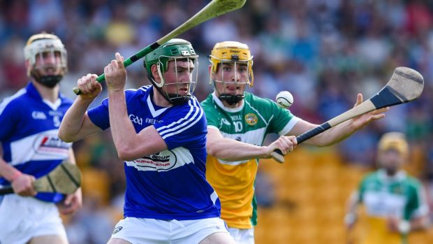 Patrick Purcell of Laois. Photograph: Inpho/Tom Beary