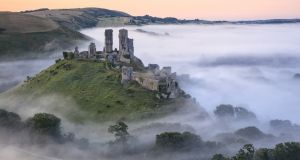 Corfe Castle, Dorset, England. Photograph: Mark Bauer/Getty Images