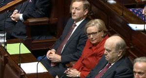 Taoiseach Enda Kenny and Frances Fitzgerald. File photograph: Houses of the Oireachtas/PA Wire