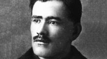 Irish poet and soldier Francis Ledwidge (1891-1917). He  died on the battlefield of Messines in Belgium. Photograph: Hulton Archive/Getty Images