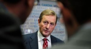 Taoiseach Enda Kenny is due to make an announcement about his departure. Photograph: Aidan Crawley