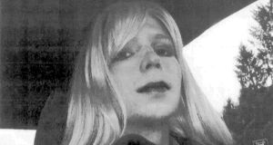 Chelsea Manning: released after serving seven years of a 35-year sentence for  releasing  classified military and diplomatic documents. Photograph: US army/AFP/Getty Images