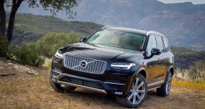 Volvo sells 90 per cent of its XC 90 offroaders in Europe with diesel engines.