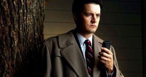 """Time for a comeback, Diane"": Kyle MacLachlan as Agent Dale Cooper in Twin Peaks"