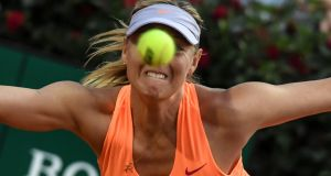 Maria Sharapova has been denied a wildcard entry for the French Open. Photograph: Andreas Solaro/Afp