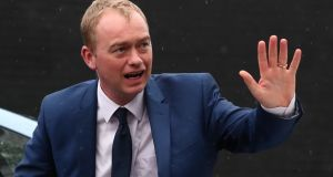 "Liberal Democrats leader Tim Farron: ""There was nothing on the ballot paper that said that people and families from Europe who have made this country their home would be left in limbo, not knowing if they can stay in the country they raise their kids in. Photograph: Gareth Fuller/PA"