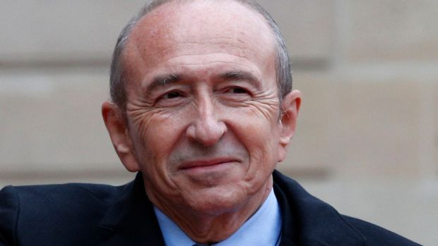 Lyon mayor Gerard Collomb is France's new interior minister. Photograph: Christophe Ena/AP