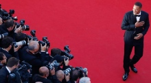 Will Smith wows the crowd at Cannes