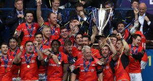 The top seven-ranked Guinness Pro12 clubs this time next year will qualify for the Champions Cup. Photo: David Rogers/Getty Images