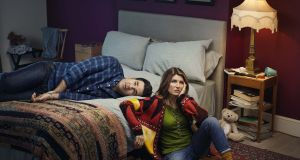 Stealth drama: Sharon Horgan and Rob  Delaney in 'Catastrophe'. Photograph: David Stewart