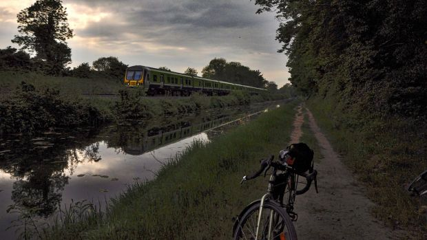 The canal towpath is a lovely way to avoid traffic on the busy R148 and to travel at a slower pace.