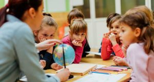 Primary and secondary teaching are very different beasts and primary teachers have a lot more flexibility within the curriculum. Photograph: iStockphoto/Getty Images