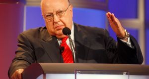 Fox News founder Roger Ailes has died at the age of 77. Photograph: Reuters