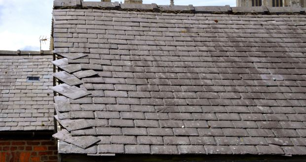 Loose Slates A Full Roof Survey Inspection Should Be Undertaken Immediately By Competent Professional