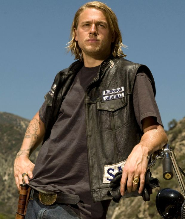 Charlie Hunnam in the TV series Sons of Anarchy