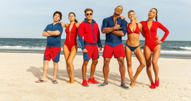 The new Baywatch movie, featuring 'that Hollywood smile'