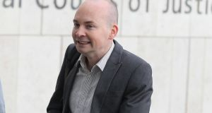 Solidarity TD Paul Murphy    arrives at the Dublin Circuit Criminal Court.  Photograph: Collins Courts
