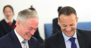 Minister for Education Richard Bruton surprised some by supporting Leo Varadkar's push to lead Fine Gael. File photograph: Dara Mac Dónaill/The Irish Times