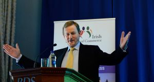 Taoiseach Enda Kenny: On both marriage equality and the abortion issue he saw what, at the very least, had to be done and focused on taking no political risks to make them politically possible.   Photograph: Cyril Byrne